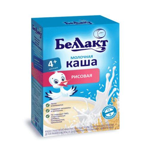 Каша сухая молоч.рисовая для дет.200 г.