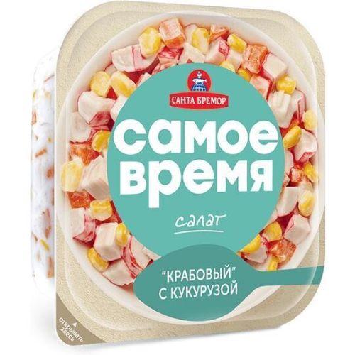 """Салат """"Крабовый"""" с кукурузой 1/150"""