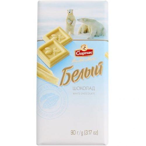 Шоколад Белый 90 гр.