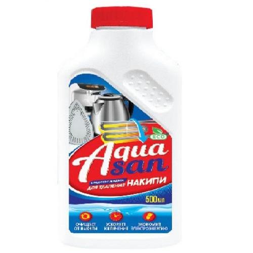 Средство для удаления накипи Aquasan 500мл