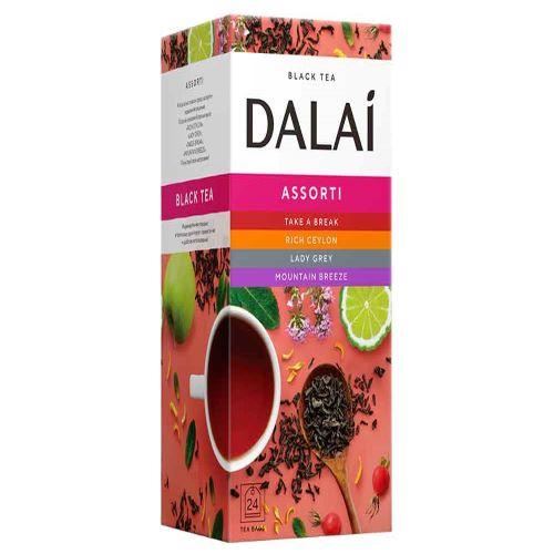 """Чай """"Dalai"""" конв. 24 пак. Ассорти"""
