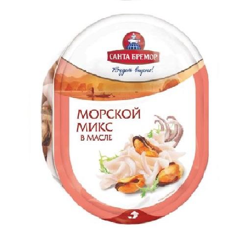 """Коктейль из морепрод. в р/м  """"Морской микс""""  1/150"""