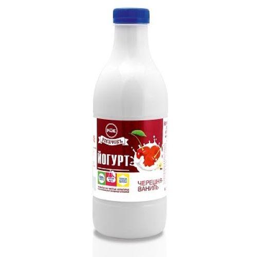 Йогурт   черешня-ваниль 0,930 гр.