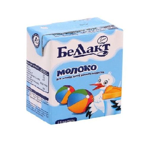Молоко питьевое стерилиз. д/пит.дет. р/в 3,2% 0,2л