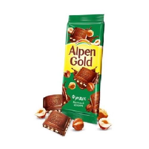"Шоколад ""Альпен гольд"" фундук 85 гр"